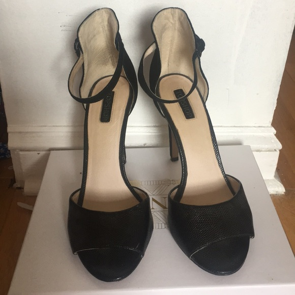 eeb831abf8e Topshop Black Stiletto High Heels Size 11.5 US